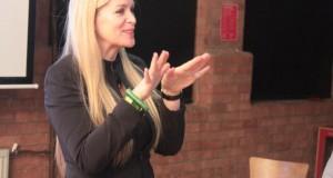 Eva Pascoe at Social Media Cybersalon