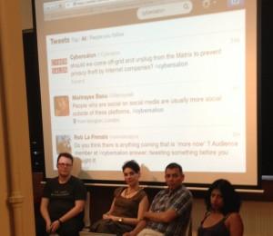 Panel: Christian, Sophia, Pete, Niki